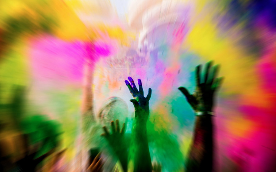 Expression in colors and life